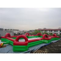 Buy cheap inflatable football field , new inflatable soccer field for sale , inflatable sports arena from wholesalers