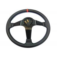Buy cheap High Durability Custom Steering Wheel Cover , Sports Steering Wheels For Cars from wholesalers