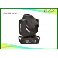 Buy cheap Moving Head Spot Light Philips 5R Lamp , Moving Head Dj Lights 8 Rotation Prism from wholesalers