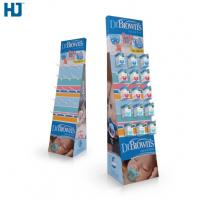 Buy cheap Customized hooks cardboard display  retail for baby products from wholesalers