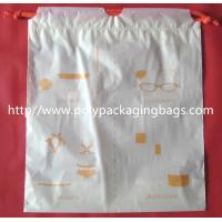 Buy cheap Small Packaging Poly Bags , Drawstring Pouch Bags 2 Colors Gravure Printing from wholesalers