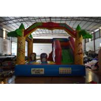 Buy cheap Jungle inflatable forest animals jump house PVC fabric middle size inflatable animals bouncy on sale from wholesalers