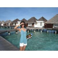 Buy cheap Waterproof Romantic Bungalow For Mobile Villa , Bora Bora Overwater Bungalow from wholesalers