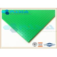 Buy cheap Sound Insulation Clean Room Ceiling Panels , Aluminium Sandwich Sheet 1220*2440 Mm2 from wholesalers
