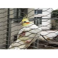 Buy cheap Knotted Stainless Steel Aviary Mesh High Safety Good Fire Prevention Properties from wholesalers