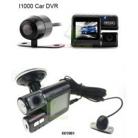 Buy cheap A1000A Dual Lens Car DVR 120 Degree Wide Angle 1.0 Mega Pixels CMOS G-Sensor Lock Accident Video from wholesalers