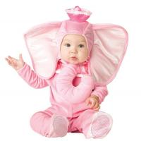 Buy cheap Pink Elephant Newborn Girl Halloween Costumes Jumpsuit 0-24 Months from wholesalers