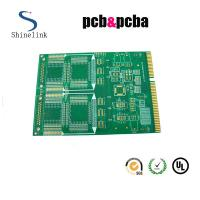Buy cheap RO4003C Rogers material Double Sided Printed Circuit Boards with gold finger connecting from wholesalers