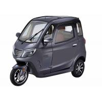 Buy cheap Grey 3 Wheels Enclosed Trike Motorcycle , 60V1000W ABS Enclosed Scooter Trike from wholesalers