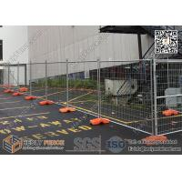 Buy cheap 2100X2400mm Tempoary Construction Fencing with Orange Color Plastic Block  Manufacturer/Exporter   AS4687-2007 from wholesalers