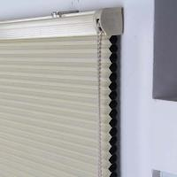 Buy cheap 25mm honeycomb blinds blackout fabric cellular shade manual chain control from wholesalers
