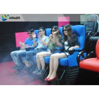 Buy cheap 2DOF 4D Movie Theater With Durable Electric Motion Seat And 13 Special Effects product