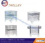 Buy cheap Steel  Folding Weld Wire Storage Bins / Sample Display Racks for Supermarket Display from wholesalers