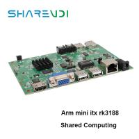 Buy cheap Reliable company X6 motherboard arm mini itx with A9 rk3188 1g ram 8g flash from wholesalers