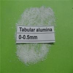 Buy cheap Al2O3 99.2 % high refractoriness tabular corundum tabular alumina for refractory castable from wholesalers
