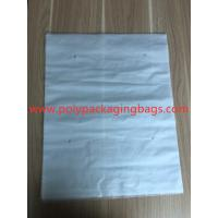 Buy cheap 3 Sides Sealed Packaging Poly Bags Environmental Protection White Transparent Degradable Material from wholesalers
