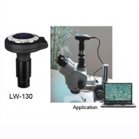 Buy cheap LW-130 chinese 1.3M pixel high resolution microscope digital camera electronic eyepiece from wholesalers