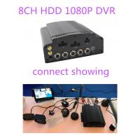Buy cheap 4G GPS WIFI AHD Hybrid HDD Mobile DVR 8CH 1080P 720P For Truck School Bus Lorry Taxi product