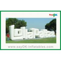 Buy cheap Outdoor Advertising Giant Inflatable Letter For Sale from wholesalers