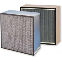 Buy cheap Paper frame high efficiency air filter hepa filter for air cleaner product
