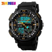 Buy cheap WR 50M  Trend Outdoor Multifunction Sport Watch Men , Waterproof Athletic Watches from wholesalers