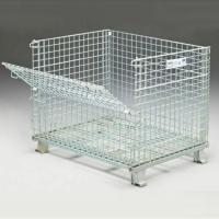 Buy cheap Welded Wire Mesh Storage Cages Medium Duty 800kg Capacity Excellent Ventilation from wholesalers