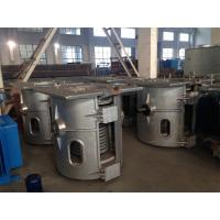 Buy cheap Hydraulic Titlting Electric Induction Furnace For Steel And Zinc Melting from wholesalers