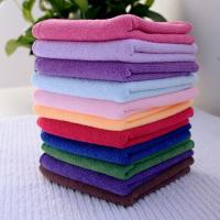Buy cheap 25*25cm Absorbent Microfiber multifunctional Square Face Towel Hand Towel Cleaning Towel from wholesalers