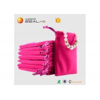 Buy cheap Delicate Necklace Packaging Velvet Drawstring Bags Jewelry Protection Popular from wholesalers