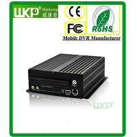 Buy cheap 3G Vehicle DVR System With GPS WIFI Modules H.264 compression for bus truck taxi from wholesalers