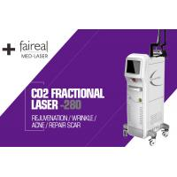 Buy cheap Skin Tightening Scar Removal IPL RF CO2 Fractional Laser Machine , Safe No Side Effects from wholesalers