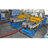 Buy cheap Automatic HDPE Spiral Tube Plastic Pipe Extrusion Line With Single Screw Design from wholesalers