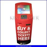 Buy cheap Payment self serve kiosk with POS PINPAD and 80mm thermal printer from wholesalers