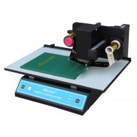 Buy cheap Customized Hot Stamp Printer , Hot Stamping Machine For Leather For Leather / PVC from wholesalers