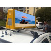Buy cheap High Contrast Silver LED Taxi Sign 3G / GPS / WiFi Controlled 400w from wholesalers
