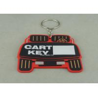 Buy cheap Stamping / Die Casting Rubber Key Chain , Design Your Own Custom Shaped Keychains from wholesalers