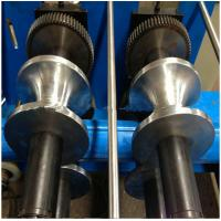 Buy cheap Steel Downspout Roll Forming Machine 0.3-0.8 mm Coil Sheet Thickness from wholesalers