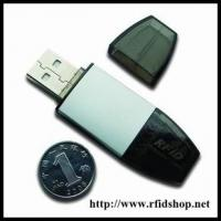 Buy cheap ISO 14443A & ISO 15693 USBkey RFID Reader,  HF USB Reader from wholesalers