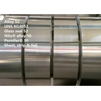 Buy cheap Glass Seal 52 Nickel Iron Alloy Bar / Strip For Hermetic And Electronic Tube from wholesalers