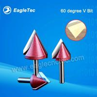 Buy cheap 60 Degree Chamfer Router Bit With 6mm Shank For Notch Cutting On Wood from wholesalers
