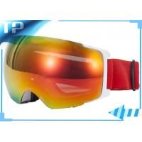 Buy cheap Colorful Prescription Ski Goggles / OTG Snowboard Goggles Magnet Lenses from wholesalers