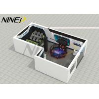 Buy cheap Fiber Glass Virtual Reality Theme Park / Center Platform 9D VR Room Fighting Game Machine from wholesalers