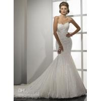 Buy cheap 2011 new style of Maggie Sottero Lace Strapless Halter wedding dresses from wholesalers