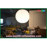 Buy cheap Attractive Inflatable Lighting Decoration Standing Advertising Balloon Holder from wholesalers