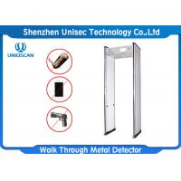 Buy cheap 18 Zone Light Portable Metal Detector For Bar / School / Metro Station from wholesalers