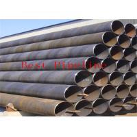 P355 P460 Black  ERW Welding Pipe  UOE Bared With Alloy Fine Grain Steel