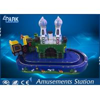 Buy cheap Kids Game Coin Operated Arcade Machines Indoor Entertainment Equipment With Train Ride from wholesalers