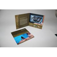 Buy cheap 4G memory Advertising Video Brochure Card with built - in speker , 10.1inch from wholesalers