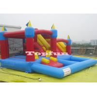 Buy cheap 20ft Inflatable 4 in 1 Combo Jumping Castle Jump And Slide With Plastic Ball Pit from wholesalers