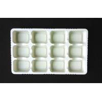 Buy cheap White Disposable 12 Holes Plastic Cake Tray Eco Friendly Non Off Smell from wholesalers